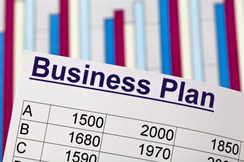 Ein Business Plan zur Gründung eines Unternehmens. Ideen und Strategien zur Unternehmensgründung.